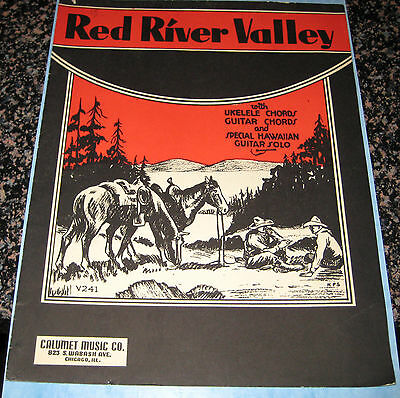 Red River Valley Sheet Music Copyright 1935