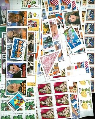 US Discount Postage 100 x $1.15 Mint Stamps for International 1oz, Below Face