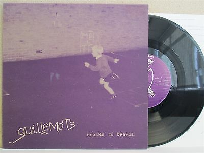 """THE GUILLEMOTS- Trains to Brazil EP 10"""" Vinyl LTD (+Insert & Stickers) NEW Indie"""