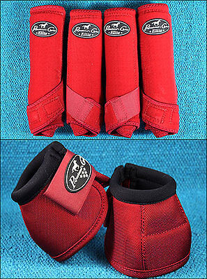 Red Small Professional Choice Sports Medicine Horse Boots Bell Ventech Elite