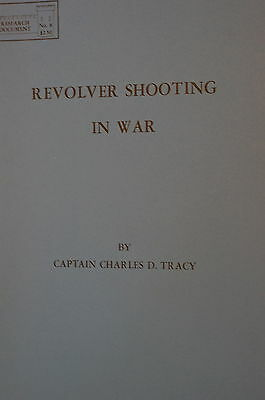 WW1 British Revolver Shooting in War Reference Book