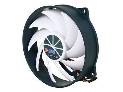 Round CPU Cooler Replacement Fan Titan Kukri Blade 95mm X 25mm TFD-9525H12ZP/KU
