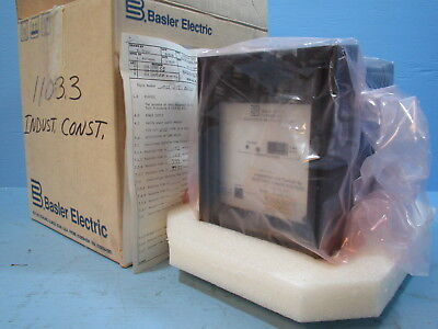 NEW Basler Electric BE1-59N Ground Fault Relay A5E E1J D0S1F Solid BE159N NIB