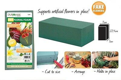 6pcs or 12 pcs Dry Floral Foam Brick Block 100% Brand New