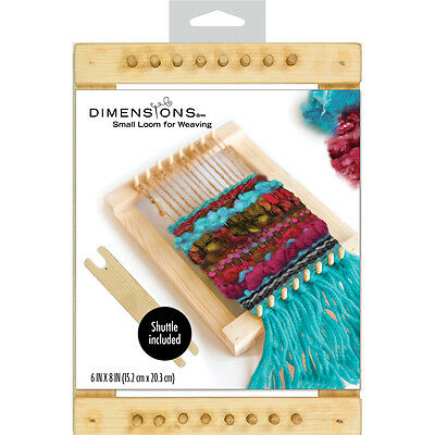 """""""Small 6""""""""X8"""""""" Wood Loom For Weaving- , Set Of 2"""""""