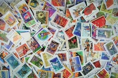 KILOWARE Worldwide Stamps on-paper mixture, 1-LB from our stock of Millions