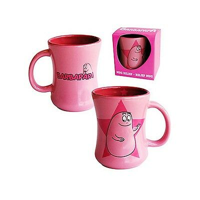 Tazza in ceramica Mug 2D cartone animato Barbapapà - Rosa *07960