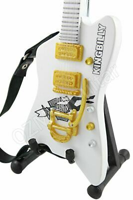 Miniature Guitar ZZ TOP Billy Gibbons KING BILLY & Strap