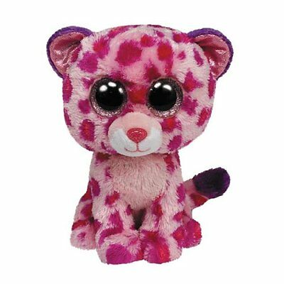 Glamour The Pink Leopard  Ty Beanie Boos  Brand New