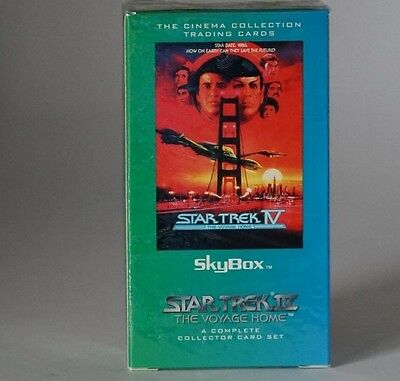 Skybox Star Trek Star Trek IV The Voyage complete trading card set still sealed