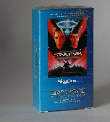 Skybox Star Trek Star Trek V complete trading card set still sealed