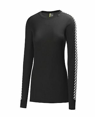 Helly Hansen Shirt Women Base Layer Dry Original L/S Lightweight 48218 XS