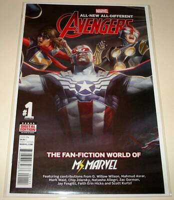 ALL-NEW ALL-DIFFERENT AVENGERS ANNUAL  # 1  Marvel Comic Oct 2016  NM
