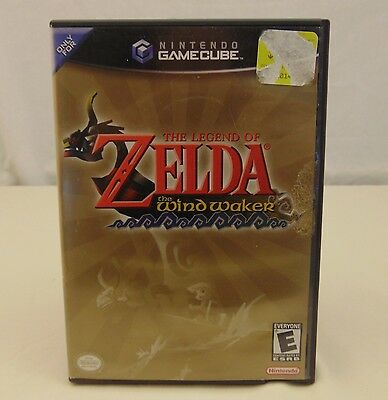 The Legend of Zelda The Wind Waker (Nintendo GameCube, 2003) COMPLETE
