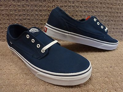 245697bb3d VANS LPE (TEXTILE Blend) Dress Blues True White Skate Shoes MEN S 10 ...