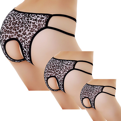 Women V-string Briefs Panties Knickers Thongs G-string Lace Lingerie Underwear