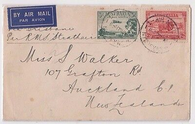 Stamps various on Bank of New Zealand cover Sydney 1934 to New Zealand