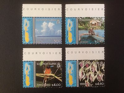 Solomon Islands 2000 East Rennell Island Set SG 969-972 MNH