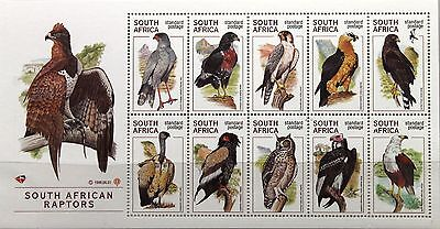 RSA SÜDAFRIKA SOUTH AFRICA 1998 Klb 1140-49 Raubvögel Birds of Prey Vögel MNH