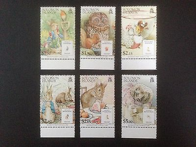 Solomon Islands 2006 Beatrix Potter Set SG 1216-1221 MNH