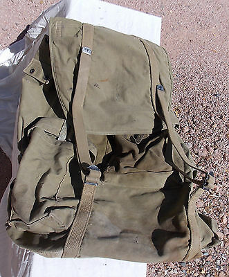 WW2 US Army USMC Soldiers Mountain Backpack Rucksack dated 1942