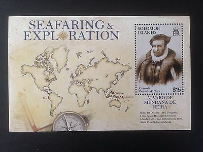Solomon Islands 2009 Seafaring and Exploration Mini Sheet SG MS1268 MNH