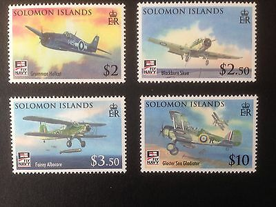 Solomon Islands 2009 Naval Aviation Set SG 1269-1272 MNH