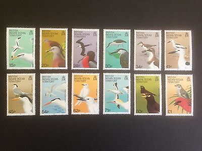British Indian Ocean Territory (BIOT) 1990 Birds Set SG 90-101 MNH