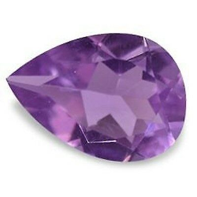Best Bright Purple AMETHYST Pear Shape Cut 10 X 7 MM