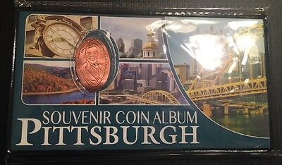 NEW Pittsburgh Penny Book Elongated Pressed Coin Collection Collector Album