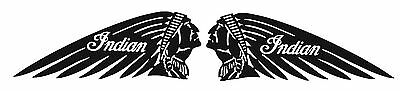 Indian Motorcycle (2) Vinyl Decal / Sticker ** 5 Sizes **
