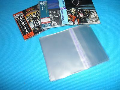 High Quality OPP Resealable Plastic Bag 50 for Mini LP CD Japan New