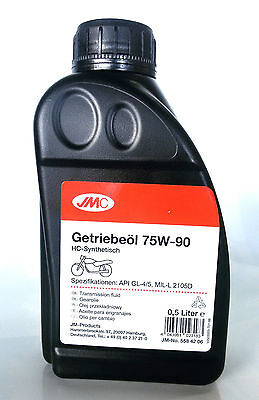 Aceite Transmision Caja Cambios Sintetico 75W90 Transmission Oil Synthetic 500ml