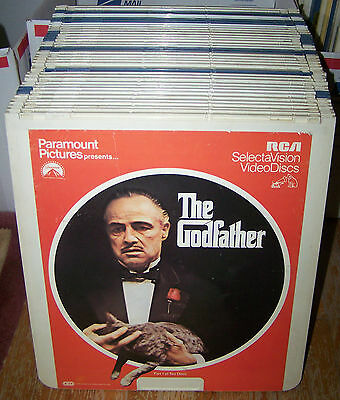 Huge Lot of 20 (2 Disc) Movies on CED–VIDEODISCS…FREE SHIPPING (#1)