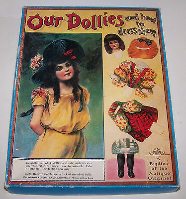 Our Dollies and How to Dress Them-A Replica of the Antique Original (Cardboard D