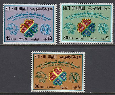 Kuwait 1983 ** Mi.1005/07 Kommunikation Communication