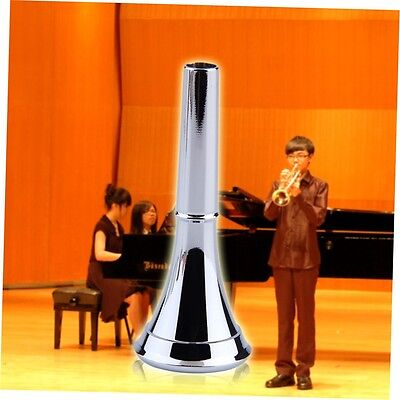1pc Professional Silver Plated Copper Trumpet Mouthpiece Musical Instrument ZA