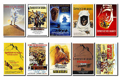 Lawrence Of Arabia -  Film Poster Postcard Set