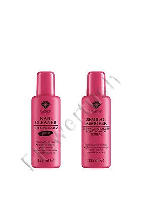 Semilac Gel Nails Remover, Cleaner 125ml