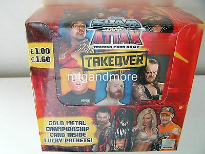 Slam Attax Takeover Booster Display + Starter Pack + Multipack +MiniTin