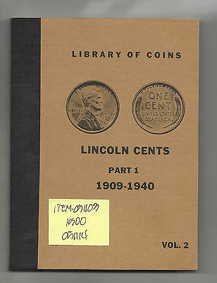 Lincoln Wheat Cent - Partial Set with Nice Library of Coins Album - # 051103