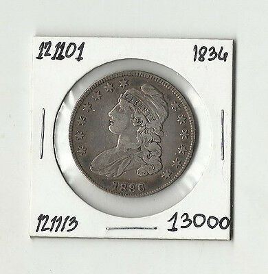 1836 Capped Bust Half Dollar - # 121101