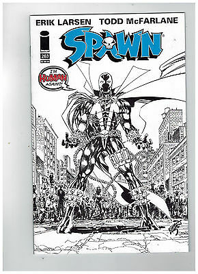 SPAWN #263  Black and White Sketch Cover Edition             / 2016 Image Comics