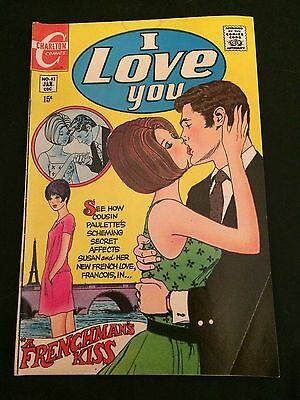 I LOVE YOU #83 VG/VG+ Condition