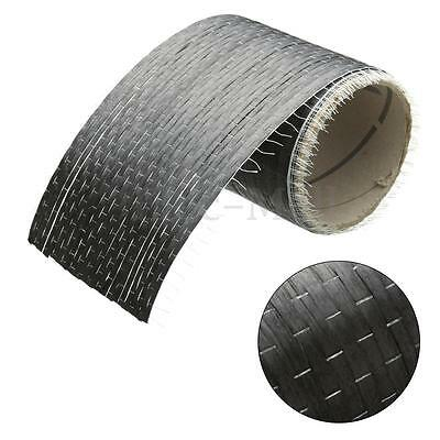 "12K 200gsm Real Carbon Fiber Fabric Cloth Tape UNI-Directional Weave 4"" x 108"""