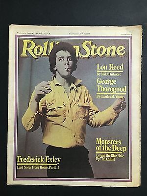 """Rolling Stone Magazine Australian Issue March 22 1979 """"lou Reed"""" Cover"""