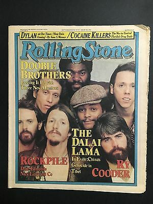 """Rolling Stone Magazine Australian Issue Sept 20Th 1979 """"doobie Brothers"""" Cover"""