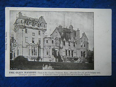 The Glen Mansion, After The 1905 Fire - Scarce Real Photo Postcard!