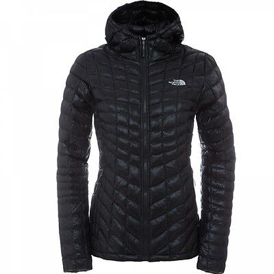 The North Face Damen Thermoball Hoodie Winterjacke Tnf Black