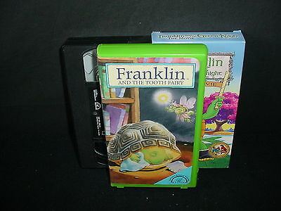 Lot of 3 Franklin Video Tapes VHS